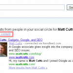 "Google Rolls Out ""Social Search"""