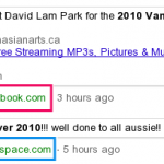 Google Adds Facebook Updates in Real-time Search
