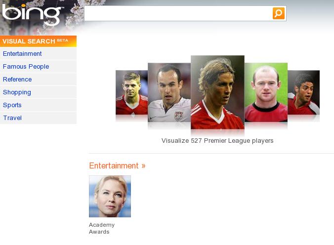 Bing gets Visual Search Update