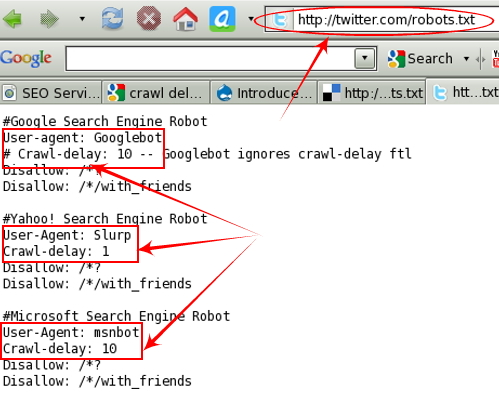 Crawl-delay in Robots.txt