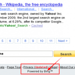 Yahoo Search Now Powered By Bing!!