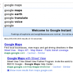 Google Instant Search – Experts View