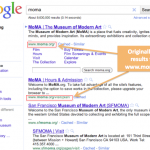 Google Now Shows Four snippets from a Same Domain