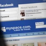 Synchronizing in facebook using MySpace